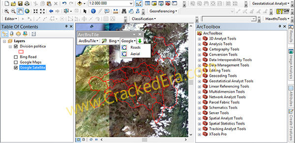 ArcGIS Crack Screenshot