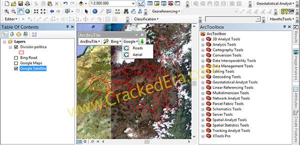 ArcGIS Crack Screenshot