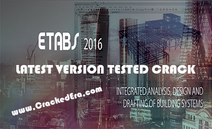 ETABS 2016 Crack Feature Image