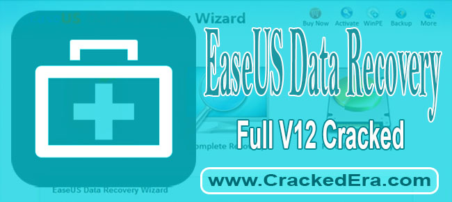 EaseUS Data Recovery Wizard Crack Cover