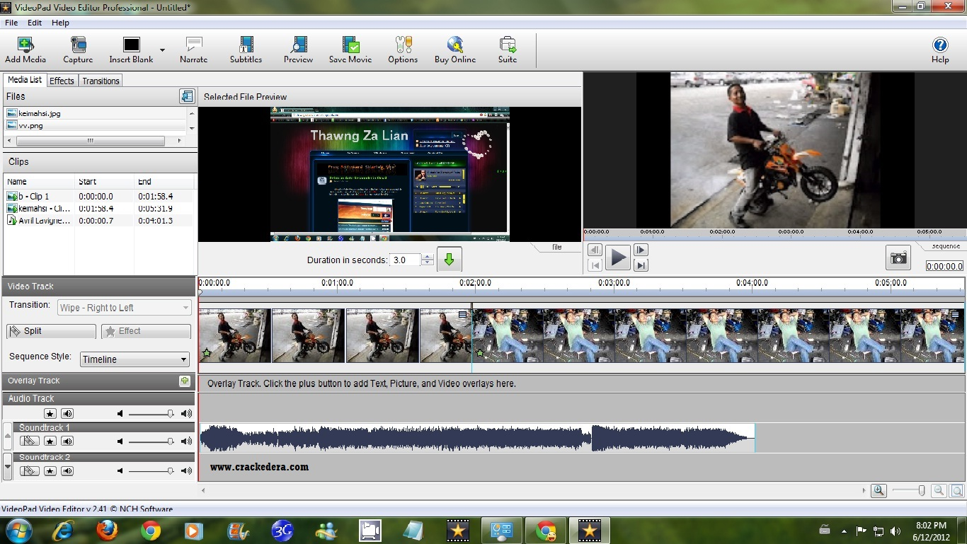 VideoPad Video Editor Crack